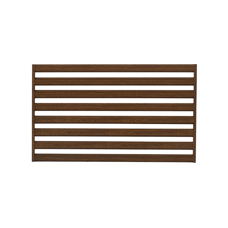 ogrodzenie palisadowe natura panel złoty dąb