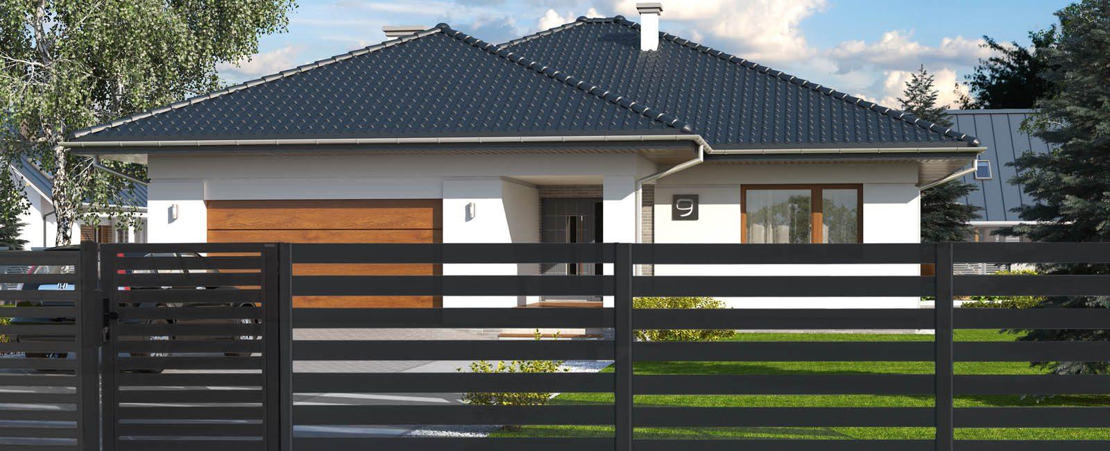 Moderner Zaun für Ihr Anwesen