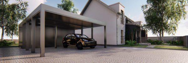 caport-wiata-garażowa-z-pomieszczeniem-gospodarczym-na-dwa-auta-bez-ścianek