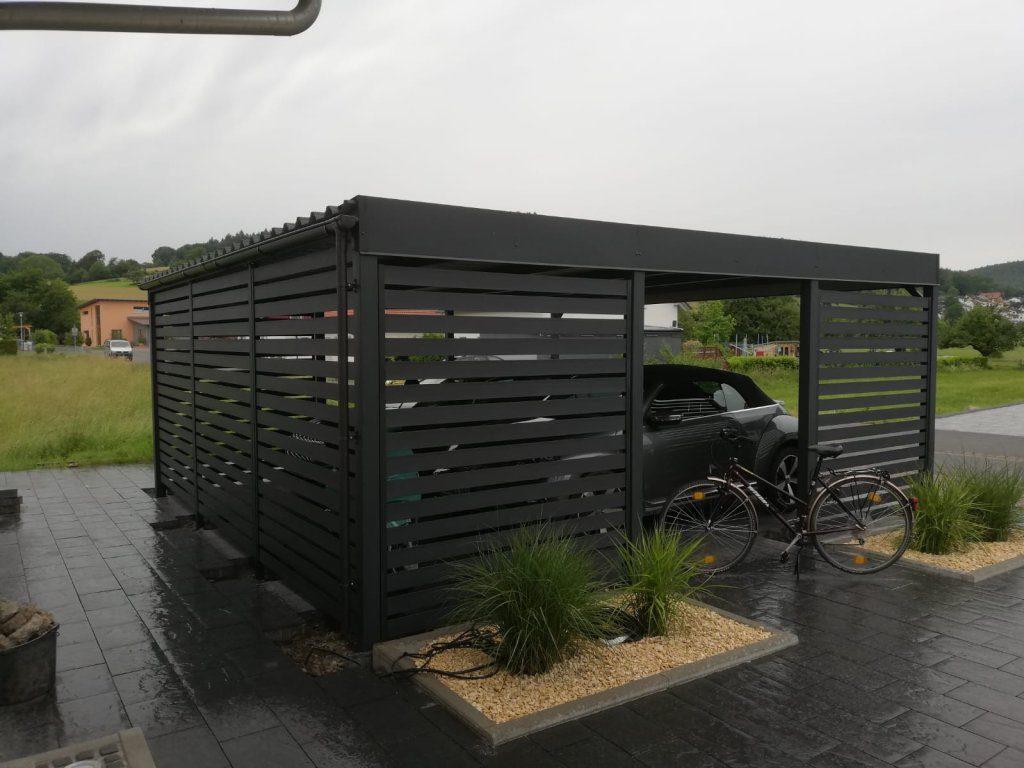 nowoczesna wiata garazowa_carport_ochrona przed deszczem i warunkami atmosferycznymi