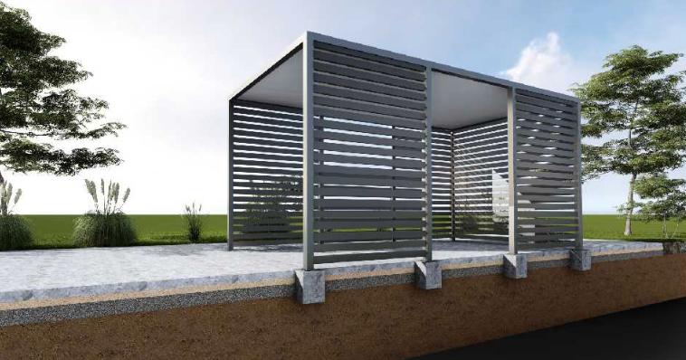 fundamenty wylewane w gruncie - bloczki - wiata garazowa- marciniak ogordzenia